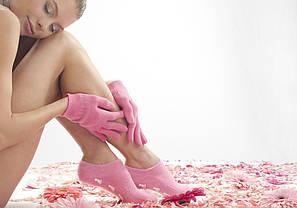 Косметические увлажняющие перчатки Spa Gel Gloves для смягчения кожи рук (Х-205), фото 2