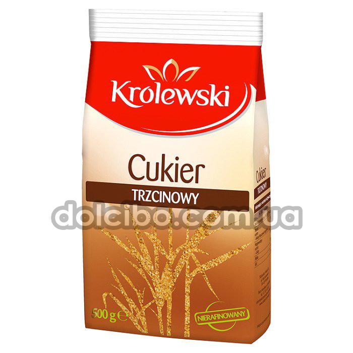"Тростниковый сахар ""Krolewski"" 500 г"