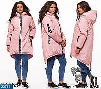 Женская зимняя куртка большие размеры