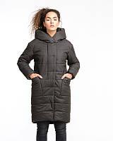 Куртка парка женская Mangust зимняя хаки (размер 50), фото 1