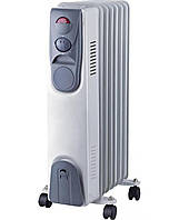 🔝 Обогреватель масляный, Luxel Oil-Filled Heater 7 Fins 1500W, конвектор электрический , радиатор | 🎁%🚚