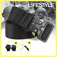 Акция! Тактический нейлоновый ремень Tactical Belt + Топ подарки!