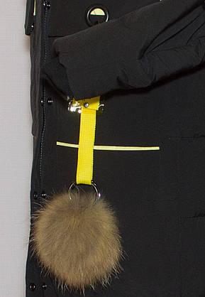 Fine baby cat парка з хутряним коміром 567, фото 2