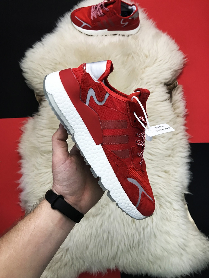 "Кроссовки Adidas Nite Jogger ""Red White Reflective"""