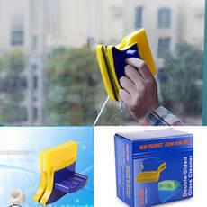 Двосторонній магнітний скребок щітка Double Side Glass Cleaner для миття. полірування вікон Gluderн Glider Глідер, фото 3