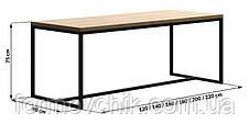 Обеденный стол в стиле LOFT (NS-963246774), фото 3