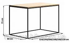 Обеденный стол в стиле LOFT (NS-963246781), фото 3