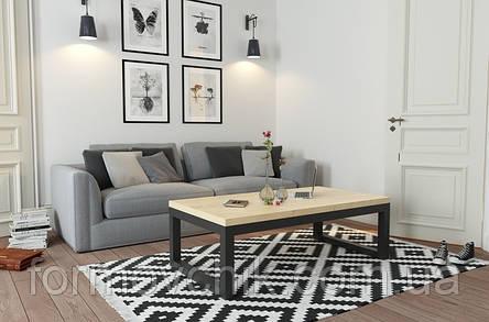 Кофейный Журнальный столик в стиле LOFT (NS-963246789), фото 2