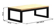 Кофейный Журнальный столик в стиле LOFT (NS-963246789), фото 3