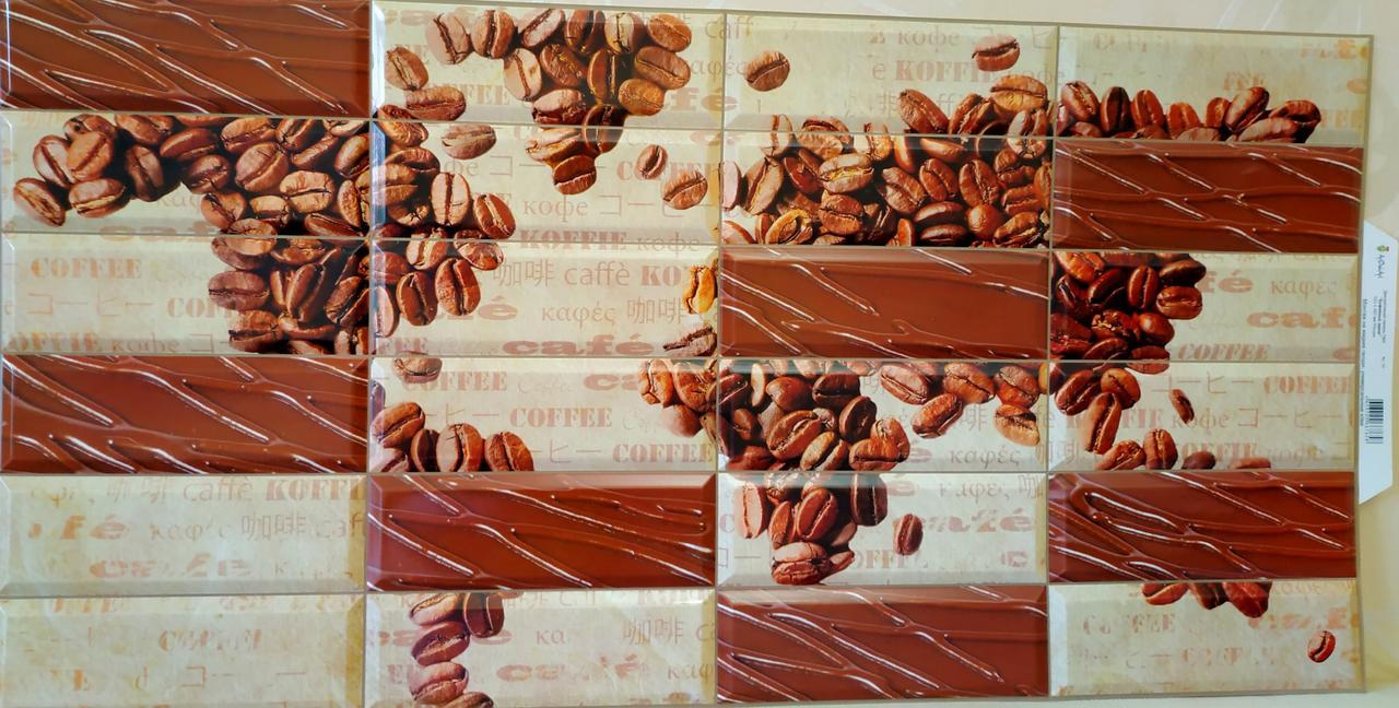 """Панелі ПВХ """"Кавові зерна"""" 0,4мм (955*488 мм)"""