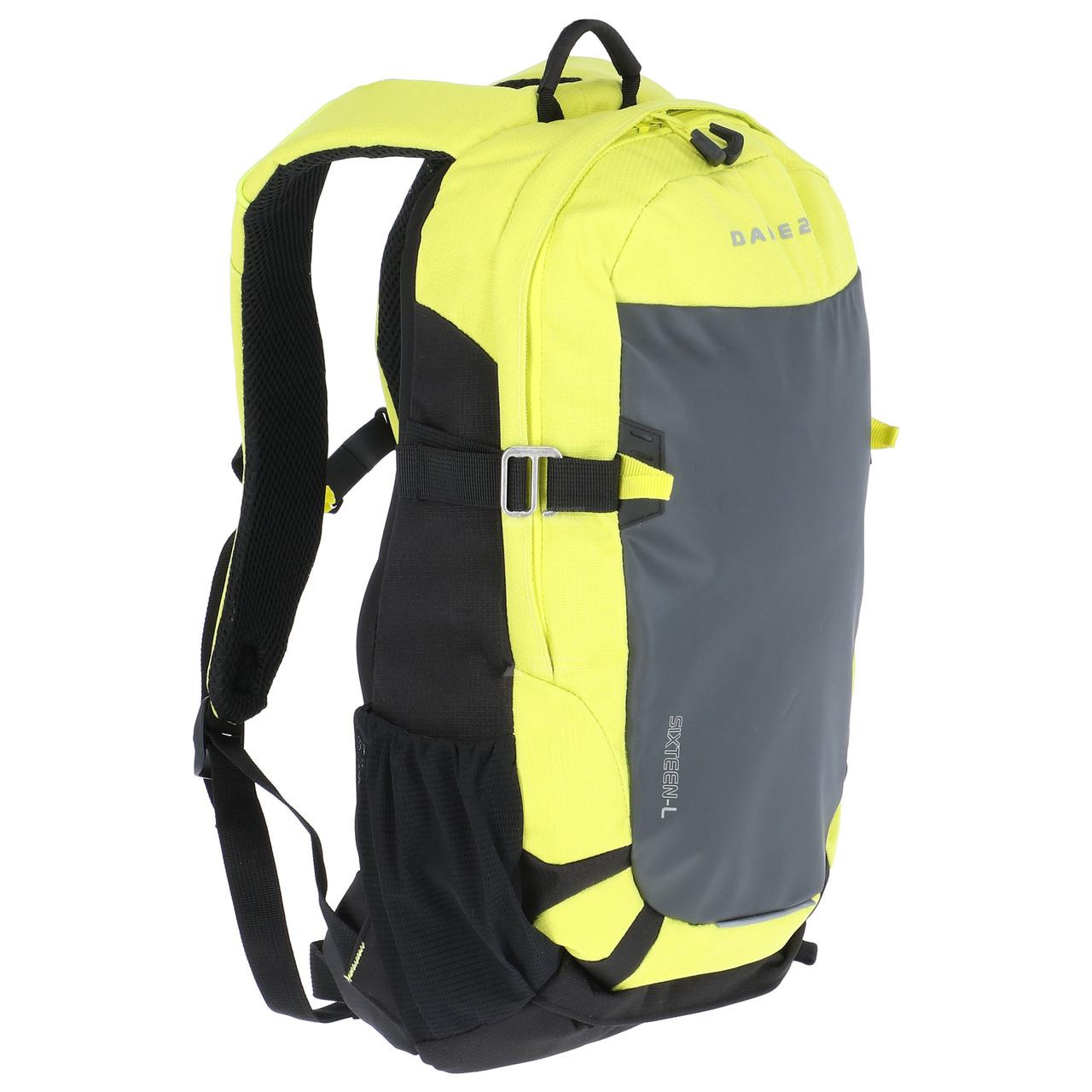 Рюкзак Regatta Kros 16 DUE342 Yellow-Black - Оригинал