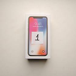 Коробка Apple iPhone X Black