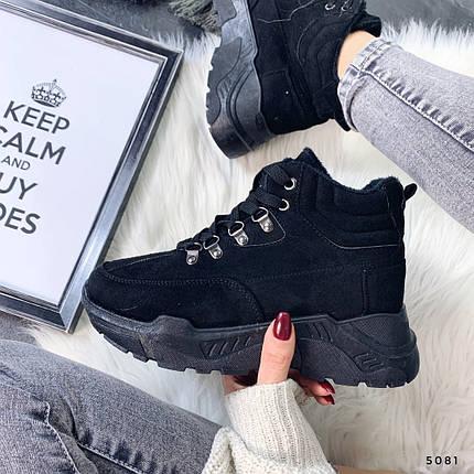 Женская обувь ботинки на платформе, фото 2