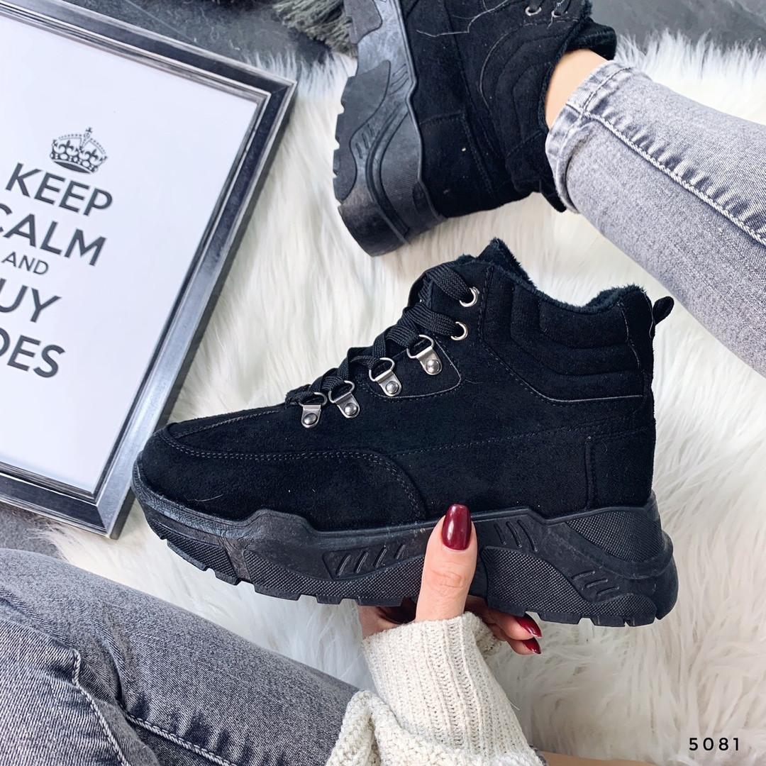 Женская обувь ботинки на платформе