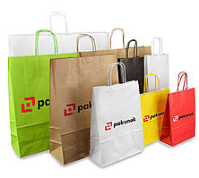 Крафт-пакеты с печатью логотипа