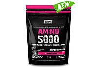 AMINO 5000, EXTREMAL, аминокислоты ВСАА и глютамин, красный грейпфрут, 500г