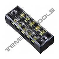 Клеммная колодка ТВ-1505 15А 5 полюсов (блок зажимов)