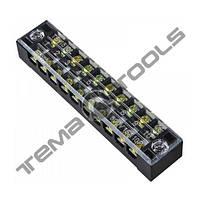 Клеммная колодка ТВ-1510 15А 10 полюсов (блок зажимов)