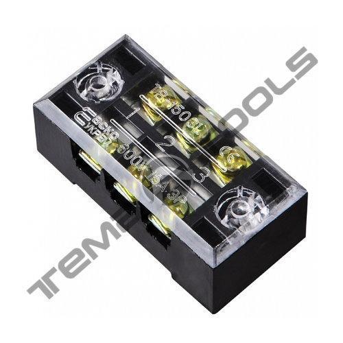 Клеммная колодка ТВ-2503 25А 3 полюса (блок зажимов)