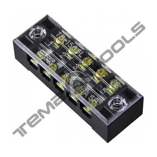 Клеммная колодка ТВ-2505 25А 5 полюсов (блок зажимов)