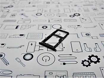 New. Сим холдер Xiaomi Mi A1 Лоток для сим-карт черный