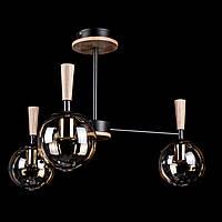 Люстра в стиле лофт на 3 лампочки P5-N3538/3/BK