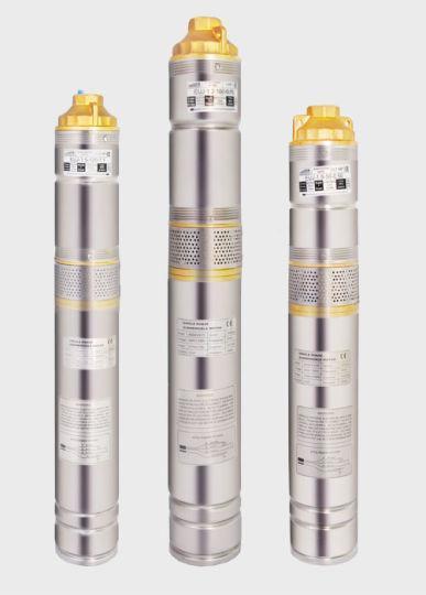 Насос глубинный центробежный EUROAQUA  БЦПЭ-1.8-63-0,75 kw (63 м.кабеля)