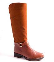 Сапоги женские рыжие Romani 2190407/3 р.36-41