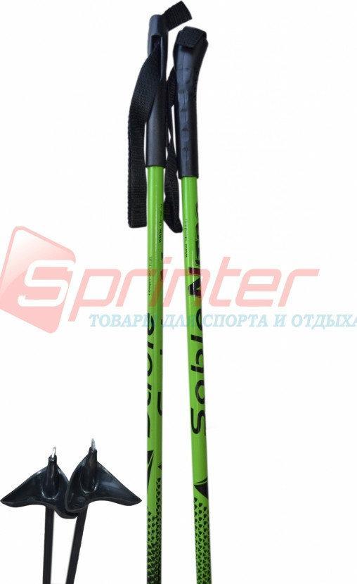 Палки лыжные STC стеклопластик 100 см.