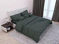 Постельное белье двуспальное 180*220 страйп-сатин люкс (12842) TM KRISPOL Украина