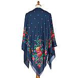 10876-14 (Пионы), павлопосадский платок из вискозы с подрубкой, фото 2