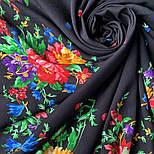 10876-18 (Пионы), павлопосадский платок из вискозы с подрубкой, фото 5
