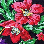10876-18 (Пионы), павлопосадский платок из вискозы с подрубкой, фото 6