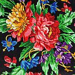 10876-18 (Пионы), павлопосадский платок из вискозы с подрубкой, фото 4