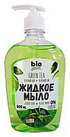 Жидкое мыло Bio Naturell Зеленый чай - 500 мл.