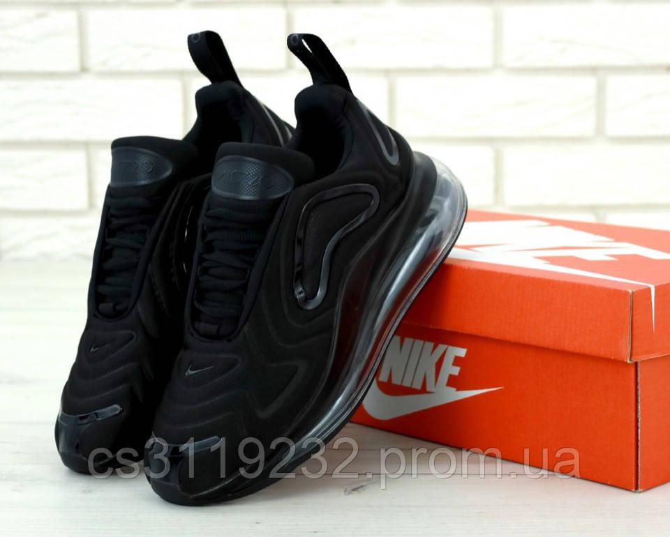 Мужские кроссовки Nike Air Max 720 Full Black (черные)