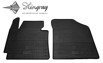 Hyundai Elantra 2011-2015 Комплект из 2-х ковриков Черный в салон