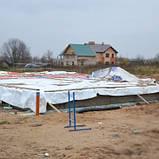 Будівельний тентовий полог, тентові полотна на замовлення, тенти універсальні., фото 2