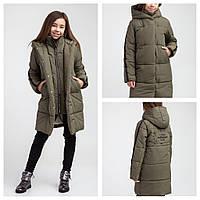 Стильное Пальто зимнее для девочек Rebecca ТМ Brilliant Размеры 122 - 164 Новинки