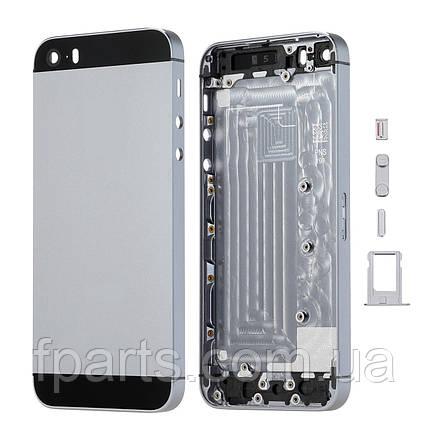Корпус iPhone 5S, Space Grey, фото 2