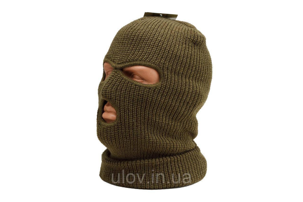 "Шапка-маска балаклава зимняя ""Mil-Tec"", хаки"