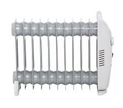 Электрический Масляный Радиатор Напольный Обогреватель на 11 Секций Мощность 1200W (Mesko MS 7806), фото 2