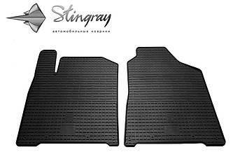 SsangYong Korando 2011- Комплект из 2-х ковриков Черный в салон