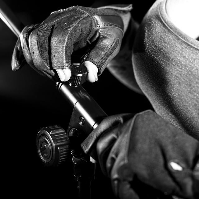 """Микрофонная стойка """"журавль"""" с телескопической стрелой Gravity TMS4322B"""