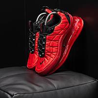 Мужские кроссовки Nike Air Max 720 Red Black до -5(реплика)