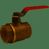 Кран шар 1 ВВ  длинная ручка MIRAYA для воды