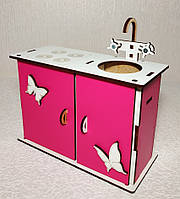 Кукольная кухня розовая BETБ1р