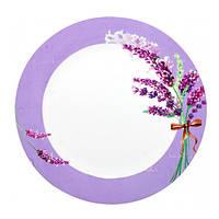 Тарелка обеденная S&T Лаванда 23 см 30002-1436
