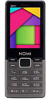 Кнопочный телефон Nomi i241 Metal Dark Gray
