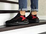 Чоловічі кросівки Adidas Y-3 Kaiwa (чорно-червоні), фото 4